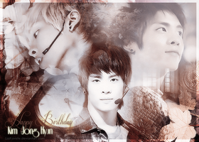 Happy Birthday Jonghyun by LizzKaviste