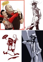 Tumblr Dump [TF2] by monkette