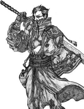 Auron by PeterPrime
