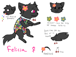 felicia gumball cat AUCTION closed by cats-go-quack