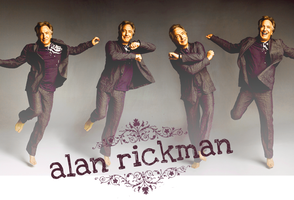 Alan Rickman Wallpaper by paulinah