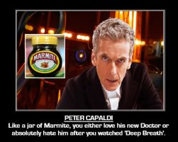 Doctor Who - The Marmite Doctor by DoctorWhoOne