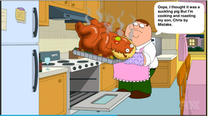 Peter Cooking his Son by darthraner83