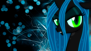 'The Great And Powerful Chrysalis' Wallpaper by BlueDragonHans