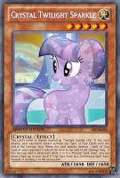 Crystal Twilight (MLP): Yu-Gi-Oh! Card by PopPixieRex