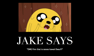 Jake Motivational Poster by mariokinz