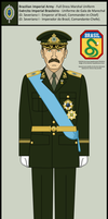 Brazilian Imperial Army - H.I.M the Emperor by Cid-Vicious