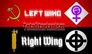 Right and Left - Totalitarianism by AmericanSFR
