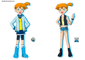 PKMN V - Misty Casuals by Blue90