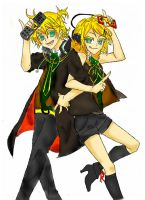 Kagamine Rin and Len Remote Control by NekoRin99