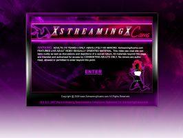 XstreamingcamsX Splash Page by PatrickJoseph