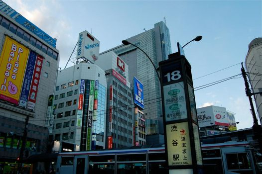 First Impressions of Tokyo by Sakanoue