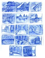 Background Thumbnails by derekblairart