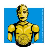 C-3PO by bloodredsandman