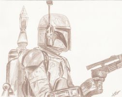Boba Fett by Faraith