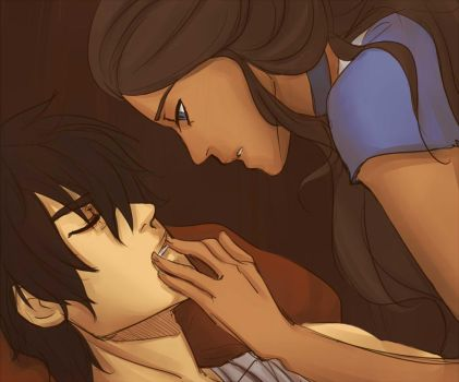 Zutara Month 2014 Day 1 - Hidden by beanaroony