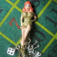 Lady Luck Pin-Up Pin 2 by Eye--Love