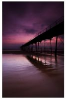 Saltburn Pier at Dawn by didjerama
