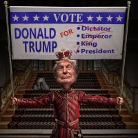 Donald Trump for President 2016 by funkwood