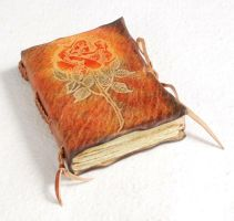 Small rose journal by gildbookbinders