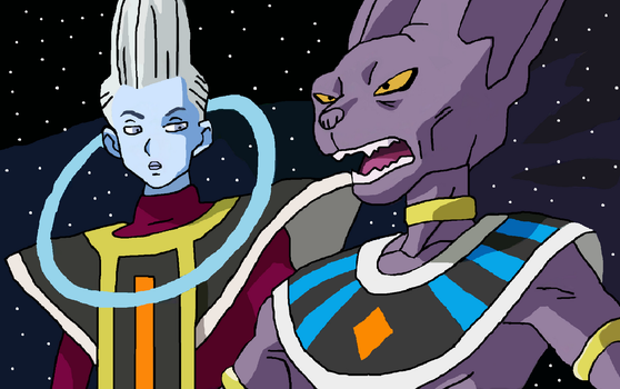 Bills and Whis Drawing by CatCamellia