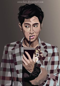 Yunho Marie Claire by verachan