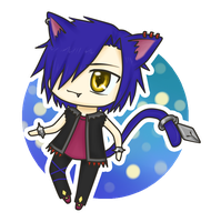::AT:: Chibi Cheshire by Lunatta