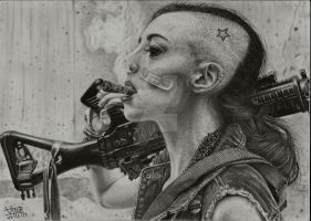 Tank Girl by vitorassis88