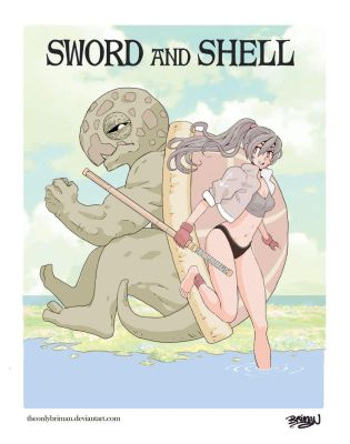 Sword and Shell Original Story by theonlybriman47