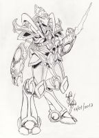 Protoss Starcraft by sofio5