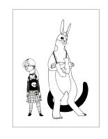 The Boxing Bunkey and his Girl by CheiftainMaelgwyn