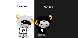 Yinaea and Yangea sprites by CALIBORNOuS