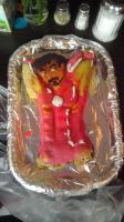 Iron Man cake by awesome-Kathi