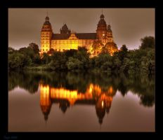 Castle Johannisburg at night 2 by Tanja0869