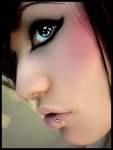 Girl with piercing by punkrock13