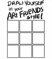 Draw in your own style by Raqui-sama