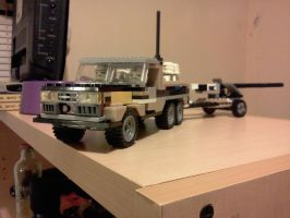 a heavy duty military truck by ace00004