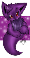 Purple Ghost by Donnis