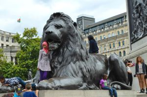 Trafalgar square by GraceDoragon