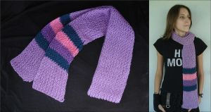 MLP Twilight Sparkle Scarf by RebelATS