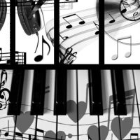 Photoshop Brushes - Music by Kaydea-Stock