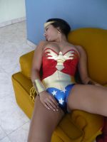 Sexy Wonder Woman: Amazon chloroformed 3 by gcsuperheroines