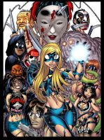 EMPOWERED 3's cover colors by AdamWarren