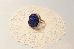 Miniature Blueberry Pie Ring by CharmStop