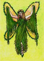 The Green Faery by MagdoleneLives