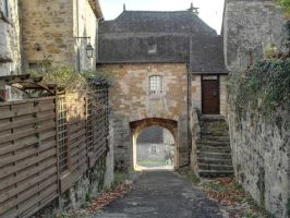 Turenne 06 - Medieval Gate by HermitCrabStock