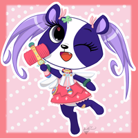 MAGICAL PANDA Penny MIIng by FrostheartIsSiamese