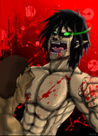Attack on Titan- Eren Titan Form...Rawr by ShyanneSikes