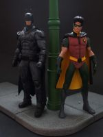 Dynamic Duo - Bruce Wayne and Jason Todd by Jedd-the-Jedi