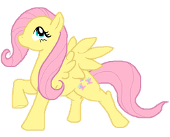 FlutterShy by Super-Chey